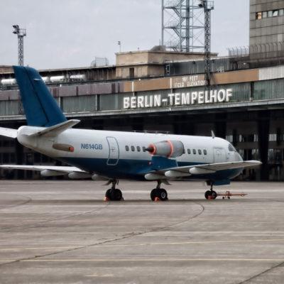 A guidance through Berlin's Tempelhof airport