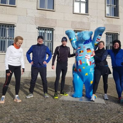 Teambuilding with Berlin-Sightrunning