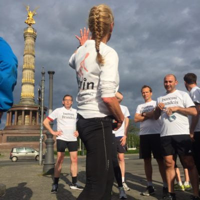 Business run with Berlin-Sightrunning
